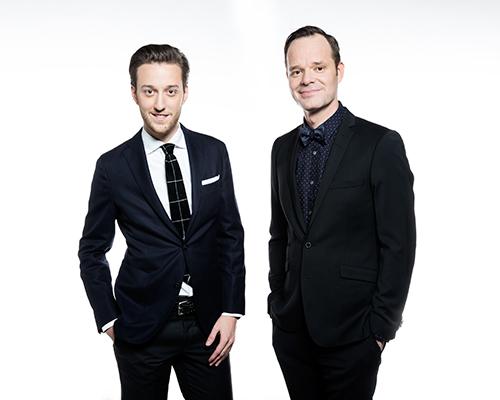 Esben Bjerre og Jacob Riising